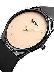 levne -SKMEI Pánské Náramkové hodinky japonština Voděodolné / Cool PU Kapela Na běžné nošení / Módní / Minimalistické Černá / Dva roky / Maxell626 + 2025