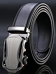 cheap -Men's Work Alloy Waist Belt - Solid Color, Classic