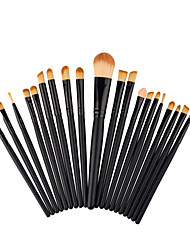 20 Pcs Pro Eye Concealer Brush Blush Powder Foundation Eyeshadow Blending Cosmetic Brushes Eye Shadow Makeup Brushes Set