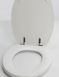 il sedile del WC del legno misura la maggior parte dei servizi igienici o il posto più spesso del WC