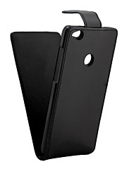 cheap -Case For Huawei P8 Lite (2017) P10 Solid Color Crystal grain PU Leather Flip up and down For P9 Lite P9