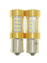 Sencart 2pcs 1156 Ba15s P21W  Flashing Bulb Led Car Tail Turn Reverse Light Bulb Lamps(White/Red/Blue/Warm White) (DC/AC9-16V)