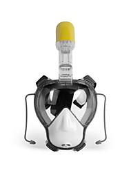 Maschera con boccaglio Sub e immersioni Silicone