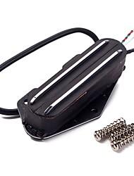 cheap -Black Dual Rail Guitar Bridge Neck Pickup for Electric Guitar