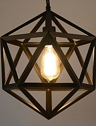 cheap -Globe Geometric Pendant Light Ambient Light - Designers, 110-120V / 220-240V 1 Bulb Bulb Not Included / 5-10㎡ / E26 / E27