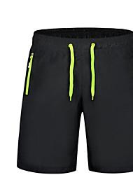 Da uomo A vita medio-alta Semplice Attivo Anelastico Pantaloni della tuta Pantaloncini Pantaloni,Largo Tinta unita