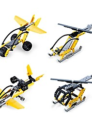 cheap -Building Blocks Educational Toy Toys Aircraft Fighter Helicopter DIY Acetate/Plastic ABS Kid's Kids' Children's Pieces