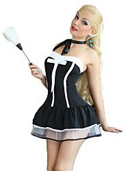 economico -Completo Cameriera Costumi di carriera Costumi Cosplay Vestito da Serata Elegante Donna Halloween Carnevale Feste / vacanze Costumi