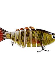 abordables -1 pcs Señuelos duros Señuelos duros g/Onza mm pulgada,Plásticos Metálico Pesca de baitcasting Pesca de Cebo Pesca en General