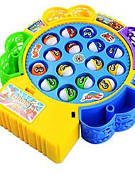 Brinquedos Magnéticos Brinquedos de pesca Brinquedos Circular Peixes Faça Você Mesmo Crianças 1 Peças