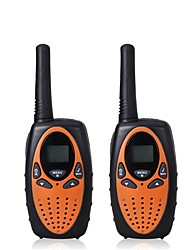 cheap -2pcs Mini Walkie Talkie Kids Radio 1W UHF Frequency Portable Hf Transceiver Ham Radio Kids gift