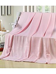 Tissé Uni Bambou/Coton couvertures