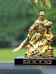 Diy ornements automobiles or voiture décoration intérieure mobilier de maison guan gong parfum siège riche pendentif voiture