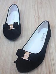 Для женщин Обувь Полиуретан Весна Удобная обувь На плокой подошве Назначение Повседневные Белый Черный Синий Винный Хаки