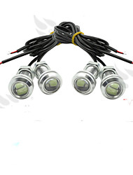 4 X ICE 12V 9W LED DRL Eagle Eye Light Car Auto Fog Daytime Reverse Signal