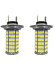 cheap -4W H7 120SMD2835  Headlight/Foglight Lamp for Car White DC12V 2Pcs