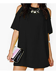 Women's Going out Daily Simple Street chic A Line Sheath Dress