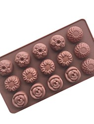 1 Piece Cake Molds For Ice Chocolate Cake Silica Gel Baking Tool
