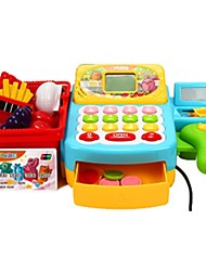 cheap -Grocery Shopping Money & Banking Toy Pretend Play Cash Register Toy Play Money & Banking Educational Toy Toys Simulation Plastics