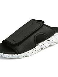 economico -Da uomo Pantofole e infradito Comoda Estate Denim Casual Piatto Bianco Nero Bianco/nero Piatto