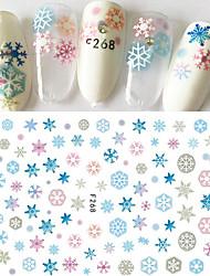 economico -1 Adesivi per manicure Fantasia Per ragazza Effetto 3D Articoli DIY Adesivo Cosmetici e trucchi Fantasie design per manicure