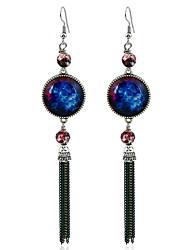 Femme Boucles d'oreilles Basique Vintage Alliage Bijoux Pour Soirée Plein Air Rendez-vous