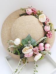 cheap -Tulle Chiffon Basketwork Fabric Plastic Silk Net Fascinators Hats Headpiece