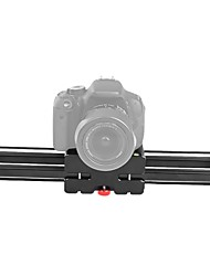 Andoer V2-370 Compact Retractable Track Slider 37cm Rail Shooting Video Stabilizer 42.5cm Max Sliding Distance 1/4 and 3/8 Screw Mount Max Load
