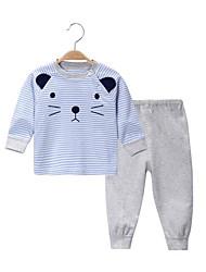 Недорогие -малыш Для детей На каждый день геометрический Набор одежды Весна/осень