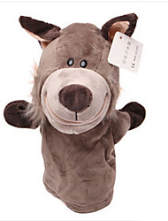 cheap -Finger Puppets Stuffed Toy Toys Horse Cow Hippo Deer Animal Animals Cotton Cloth Children's Adults' Pieces