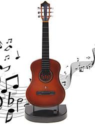 Недорогие -музыкальная шкатулка Мини-гитара Гитара Звук Детские Взрослые Подарок Мальчики Девочки Подарок