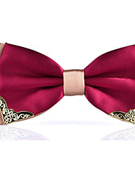 cheap -Men's Polyester Bow Tie - Color Block