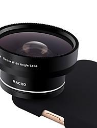 Lenti della fotocamera smartphone xihama obiettivo 0.45x wide angle 12.5x macro fish-eye per ipad iphone huawei xiaomi samsung