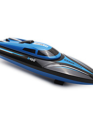 cheap -RC Boat TKKJ H100 Speedboat ABS 4 Channels KM/H
