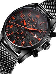 OCHSTIN Men's Fashion Casual Unique Luxury Stainlee Steel Calendar Quartz Watches Clock Relogio Masculino Hodinky Hour Handmade Watch