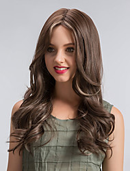 Natural Beautiful Ombre Color Long  Wave Hair Synthetic Wigs