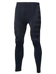 abordables -Hombre Pantalones ajustados de running Leggings de gimnasio Gimnasio, Correr & Yoga Secado rápido Diseño Anatómico Transpirable Ligeras