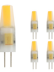 2W G4 LED Doppel-Pin Leuchten T 1 COB 160 lm Warmes Weiß 2800-3500; K V