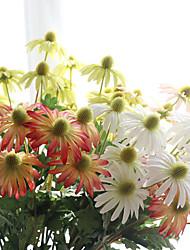 asiatico crisantemo ombrello crisantemo nozze simulazione fiore pianta 5 ramo