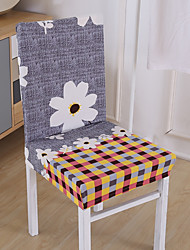 Недорогие -Накидка на стул , Полиэстер тип ткани Чехол с функцией перевода в режим сна