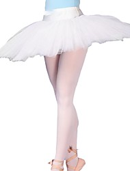 Ballet Tutus & Skirts Women's Performance Polester/Cotton Blend 1 Piece Natural Tutus
