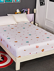 cheap -Flat Sheet - Poly / Cotton Printed Cartoon 1pc Flat Sheet