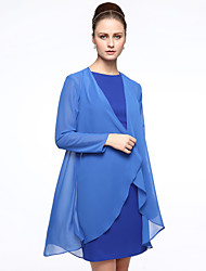 cheap -Chiffon Wedding Party / Evening Women's Wrap Coats / Jackets