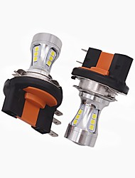 2X Mini Design Super Bright H15 LED Headlight Bulb H15 High Low Beam/LED DRL Function Fit for VW Audi BMW Ford