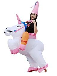 baratos -Riding A Unicorn Adulto Natal Dia Das Bruxas Carnaval Festival / Celebração Trajes da Noite das Bruxas Animal