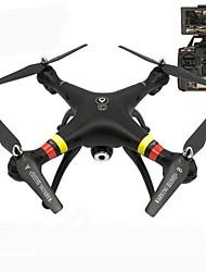 Drone X188 4 canali 6 Asse Con videocamera HD da 5.0MP Illuminazione LED Tasto Unico Di Ritorno Controllo Di Orientamento Intelligente In