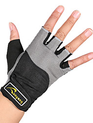 cheap -Sports Gloves Half Finger Breathable Comfortable for Recreational Cycling Exercise & Fitness Mountaineering Gym Outdoor 1 pair