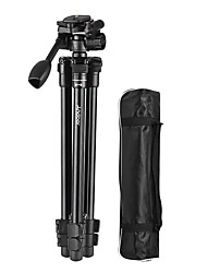 cheap -Andoer Professional Portable Aluminum Alloy Tripod with Q08 Rocker Arm Ball Head for Canon Nikon Sony DSLR ILDC Cameras