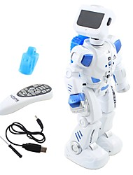 cheap -RC Robot Kids' Electronics Infrared Polyethylene Shooting Dancing Walking Sound Control Remote Control Multi-function