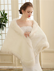 Недорогие -faux мех свадебная вечеринка / вечерние женские обертки шали элегантный стиль